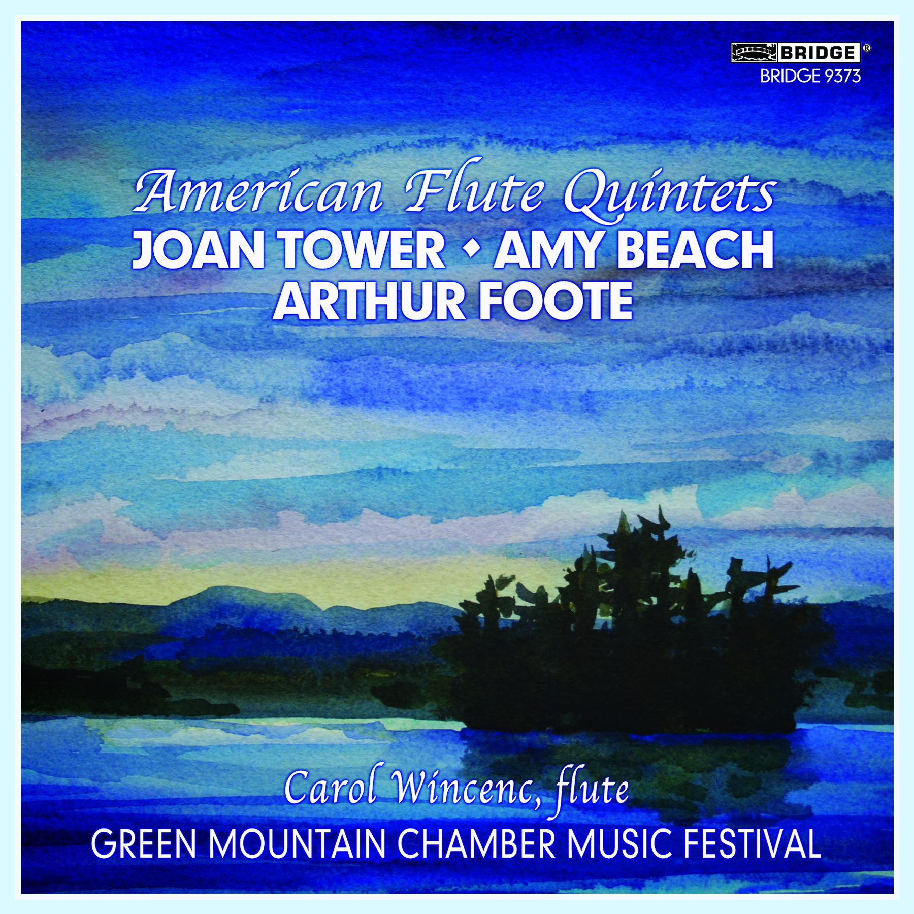 Cover-American Flute Quintets